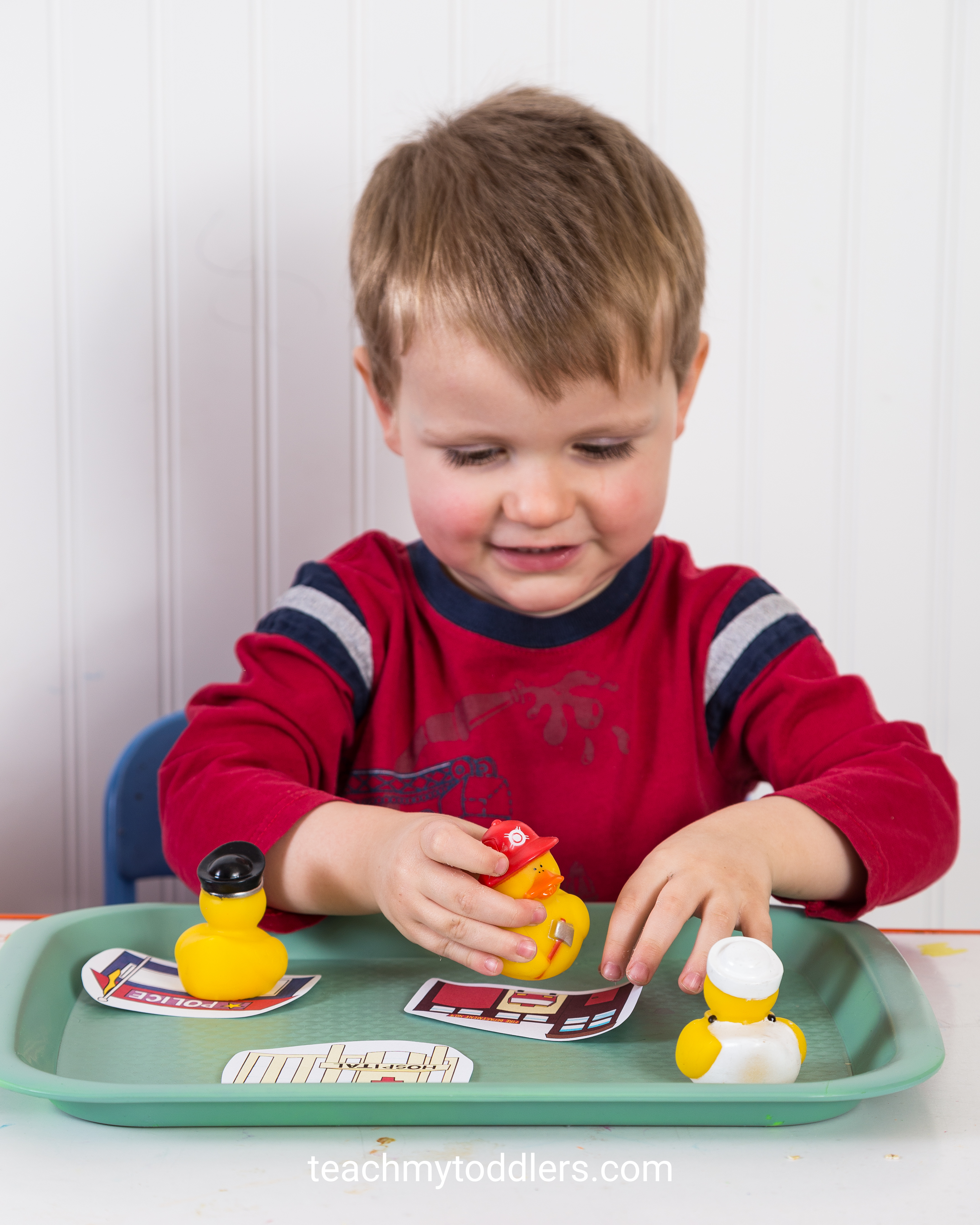 Teach your toddlers the letter c using these fun activities to learn c is for community helpers