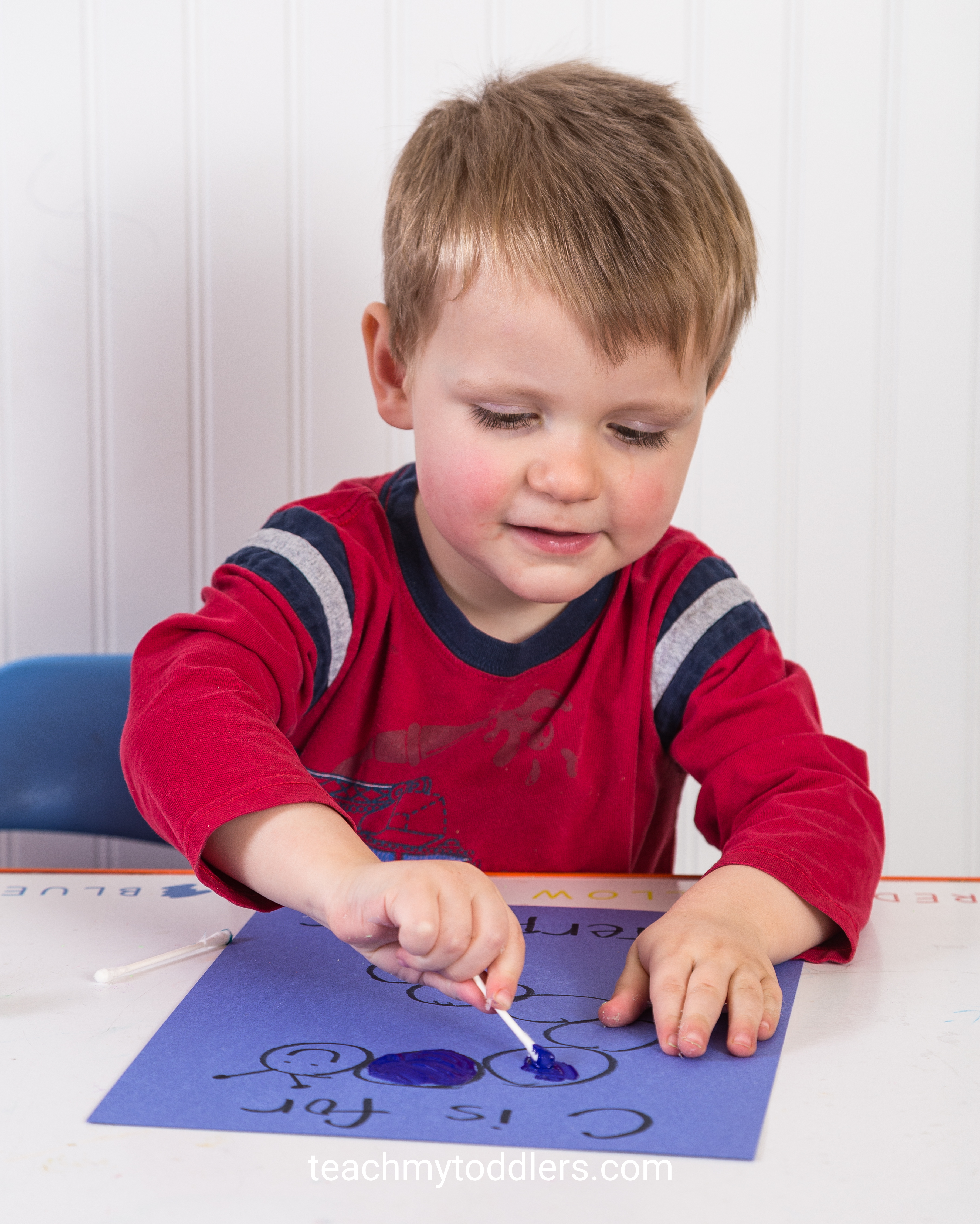 Use these exciting activities to teach your toddlers the letter c is for community helpers