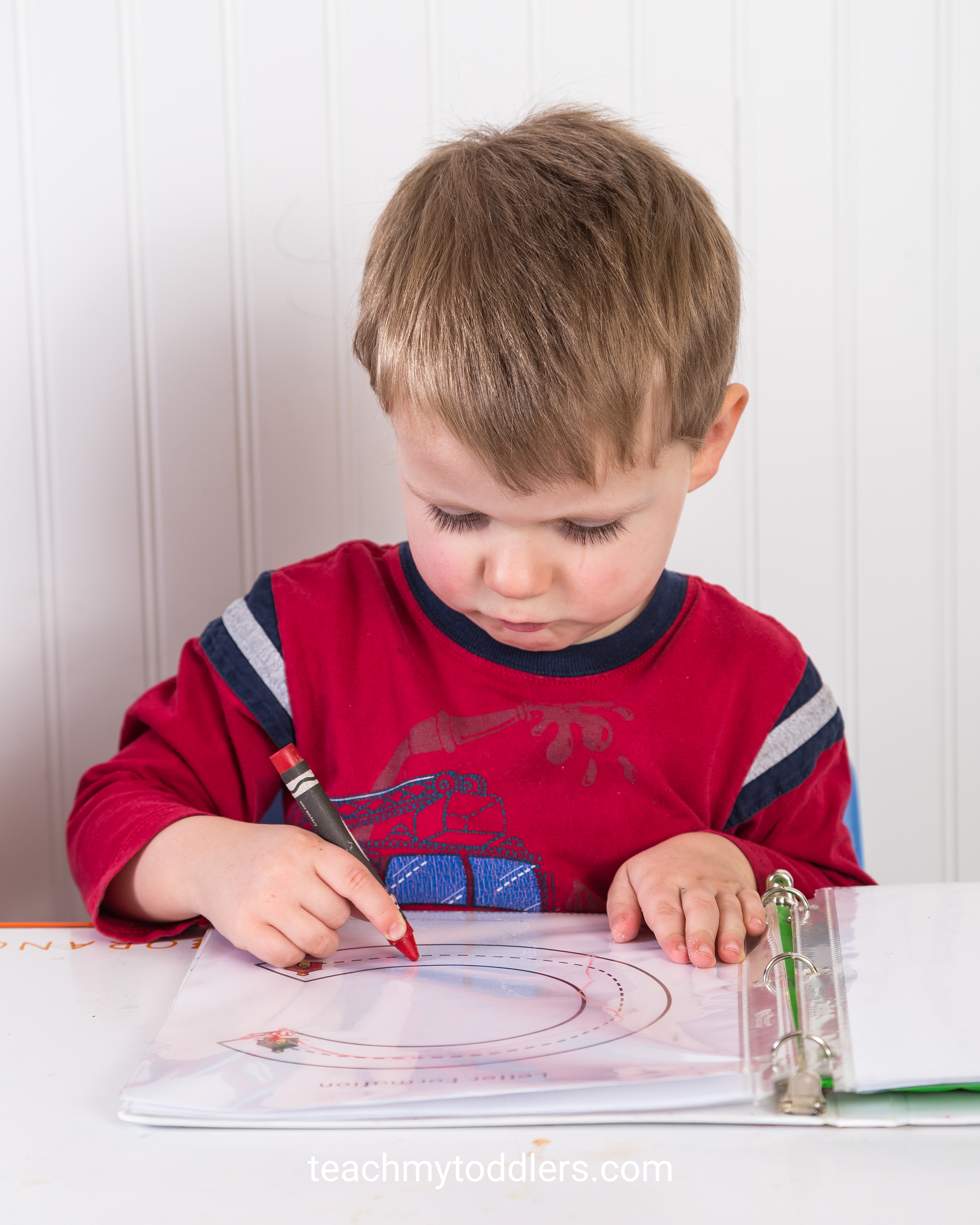 Use these fun activities to teach toddlers the letter c is for community helpers