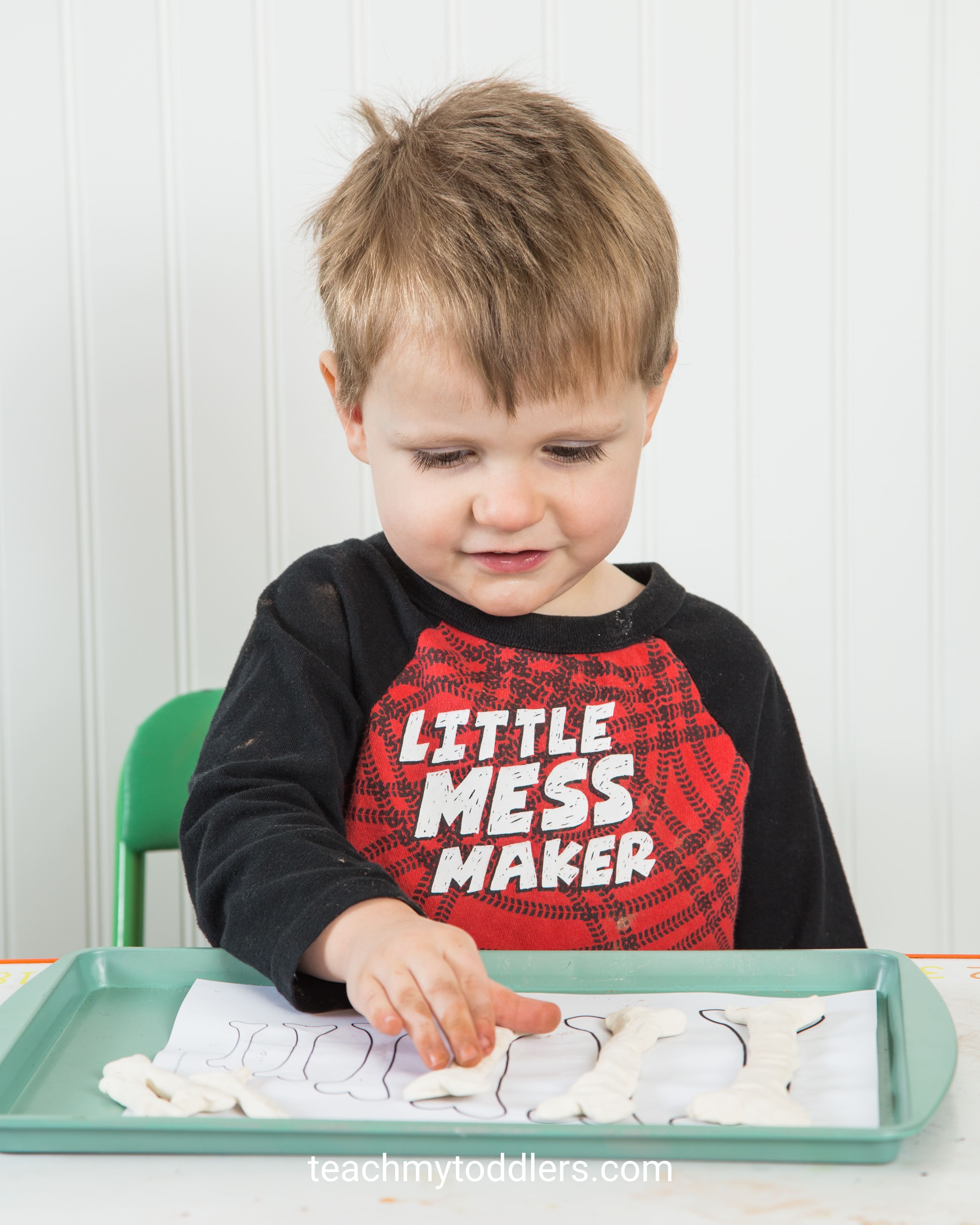 Teach toddlers the letter e with these fun activities about e is for extinct
