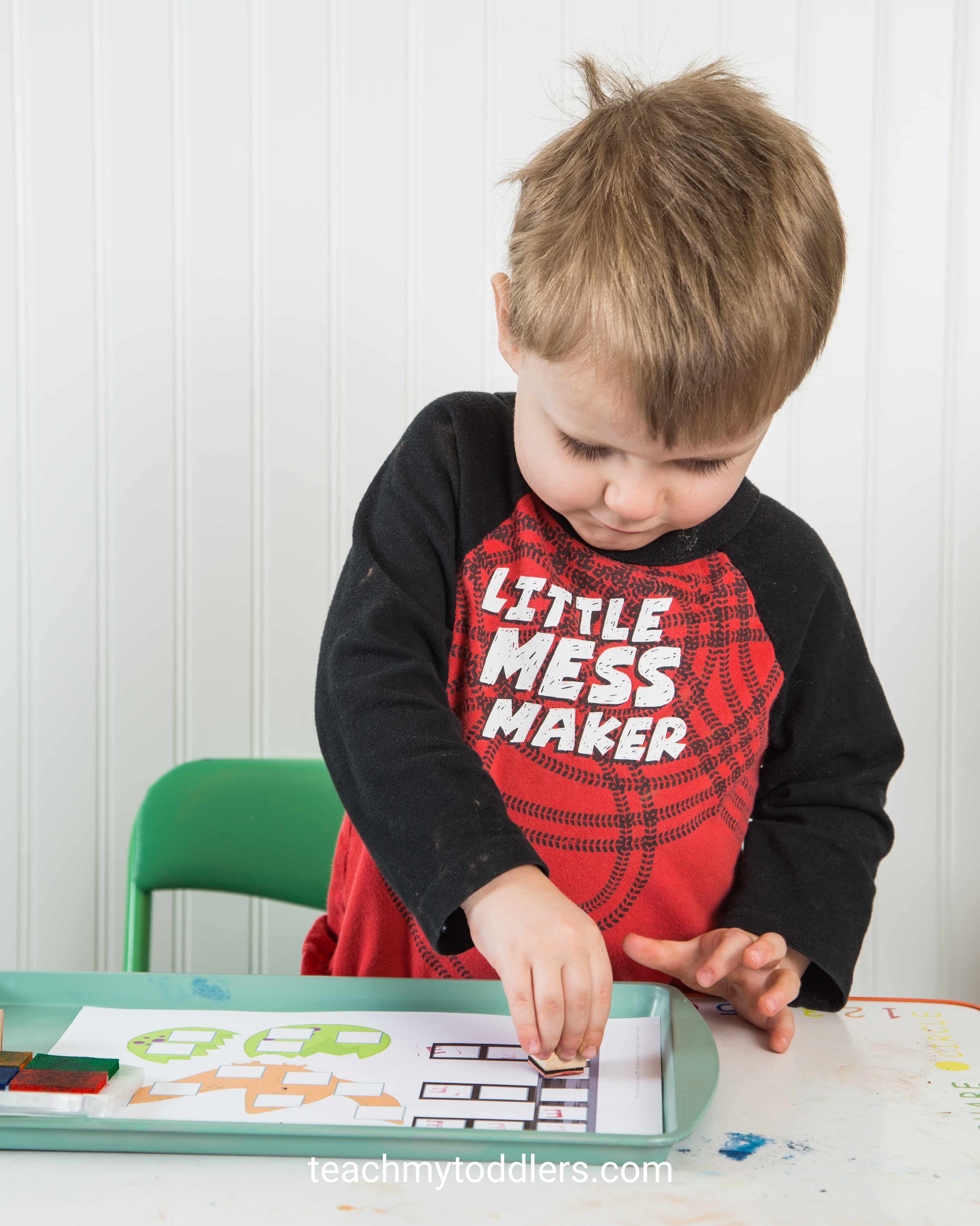 Teach your toddlers the letter e with these unique activities about e is for extinct