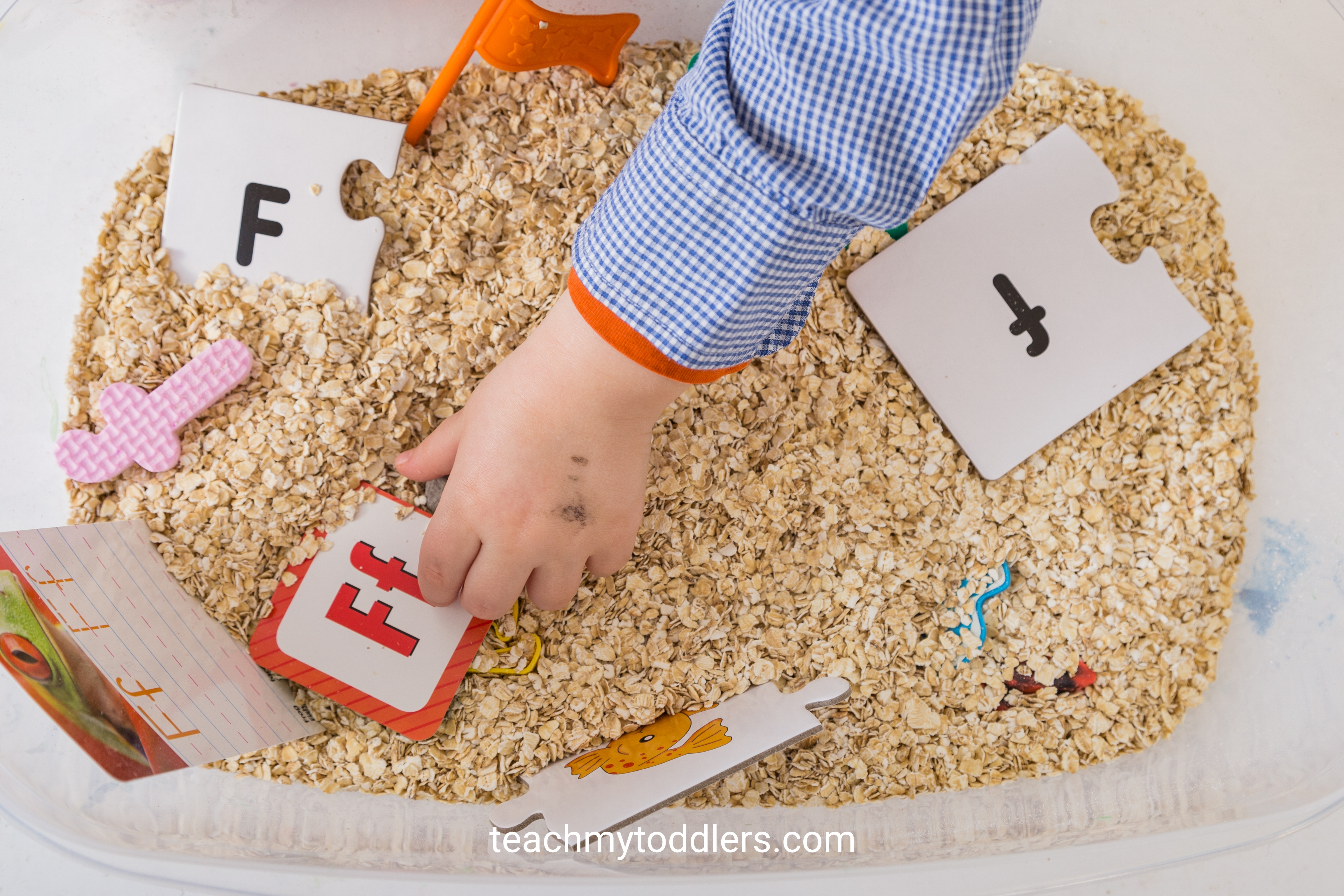 Find out how to use these f is for farm activities to teach toddlers the letter f