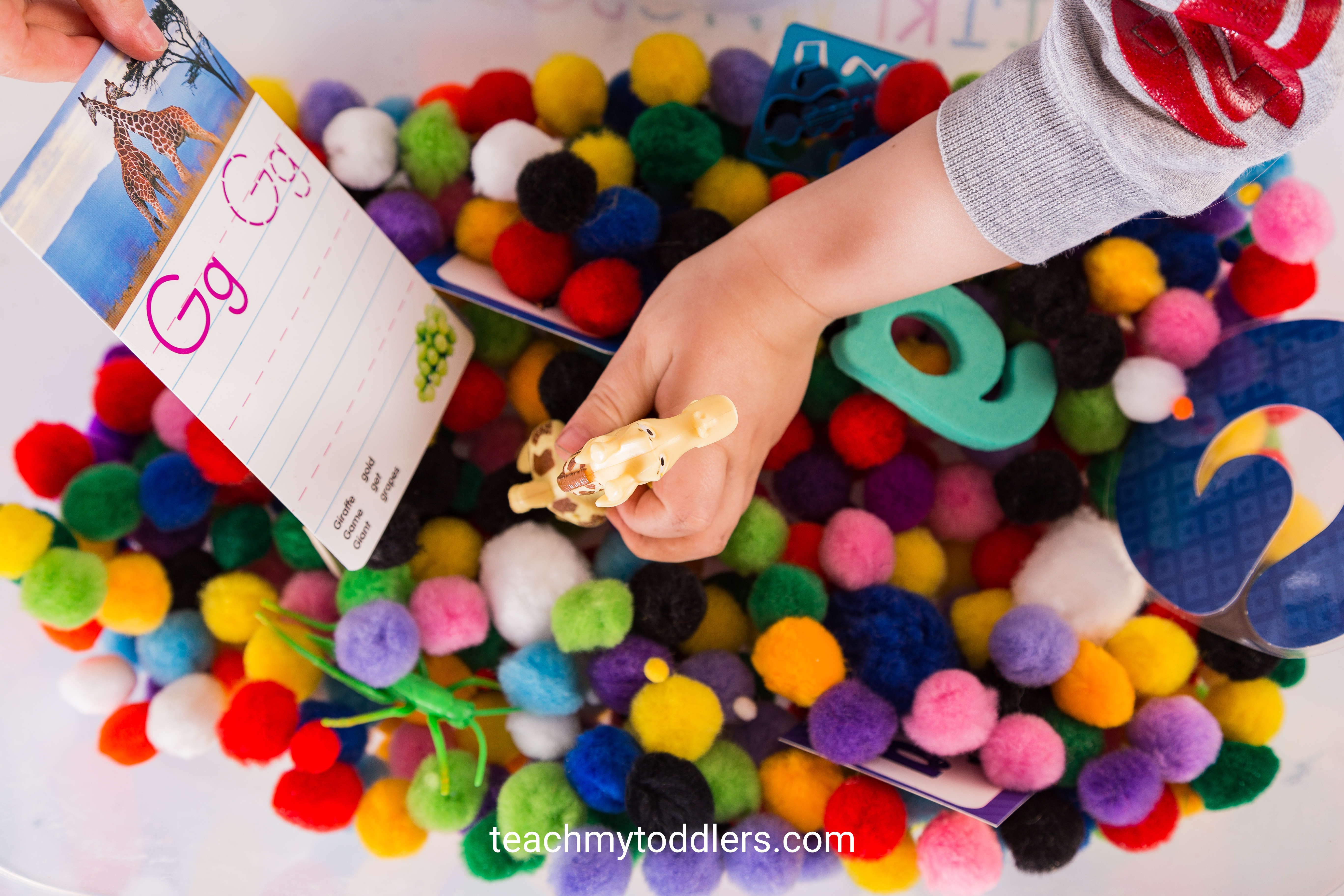 Use these exciting g is for garden activities to teach your toddlers the letter g