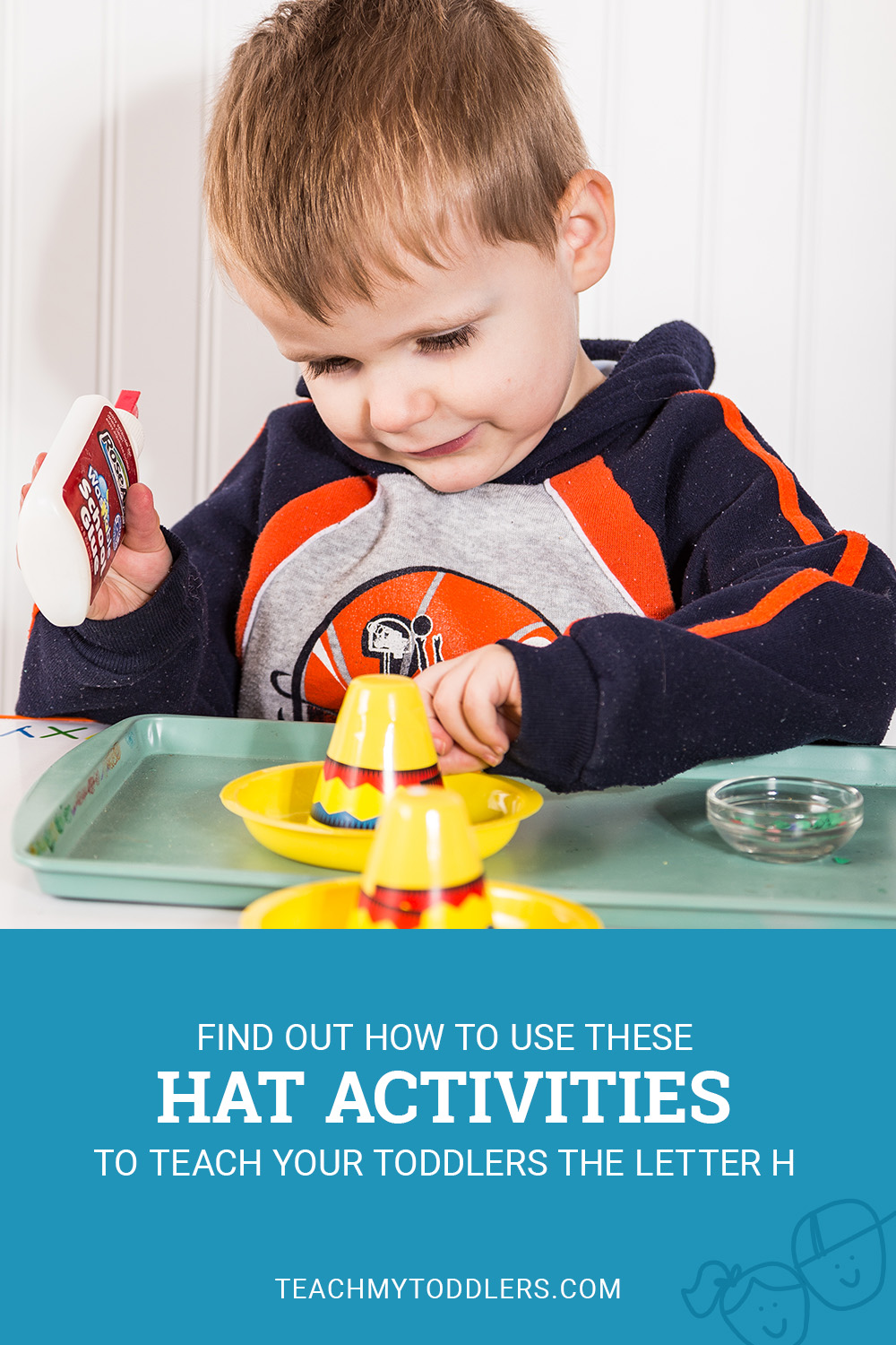 Find out how to use these h is for hat activities to teach your toddlers the letter h