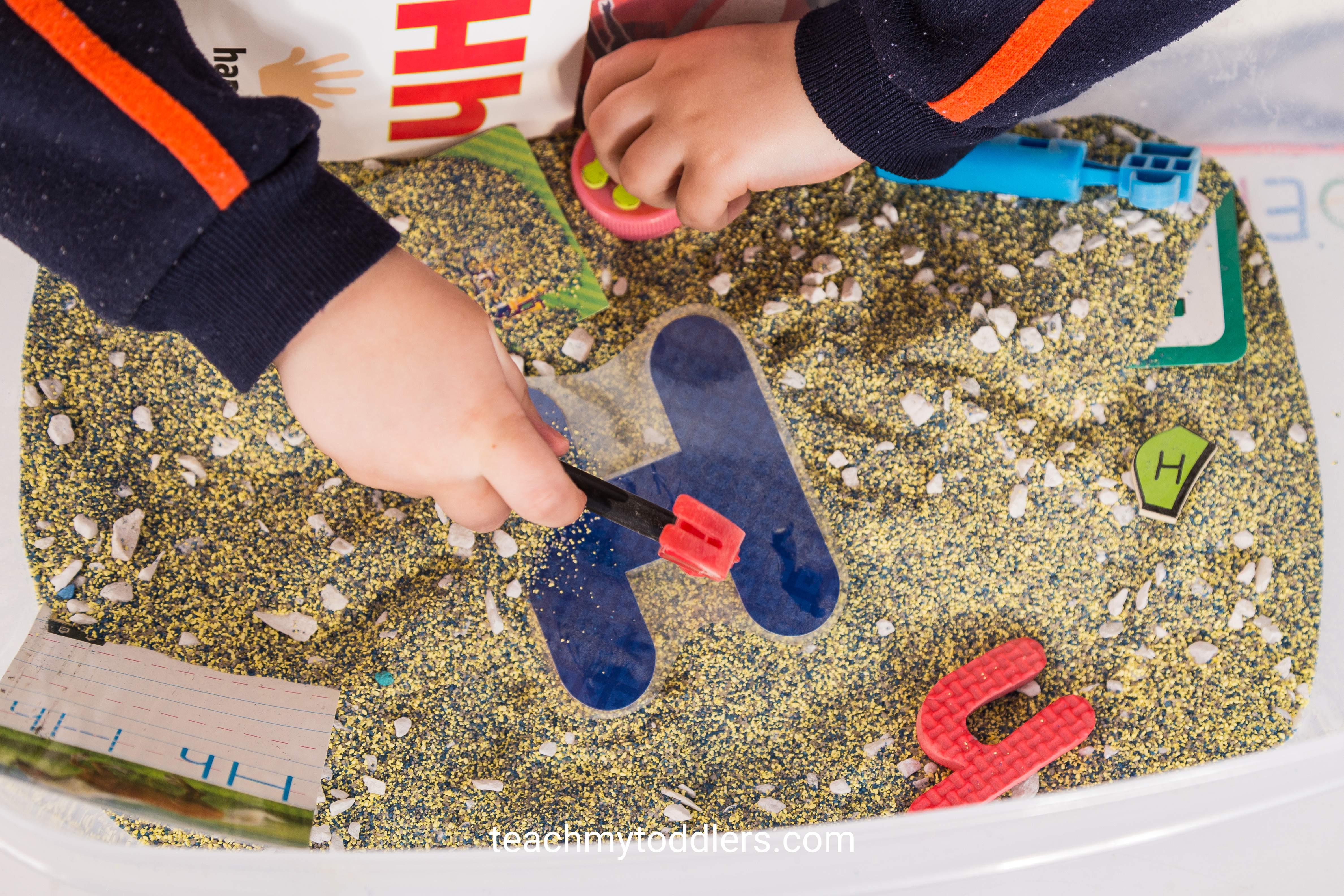 Teach your toddlers the letter h with these h is for hat activities
