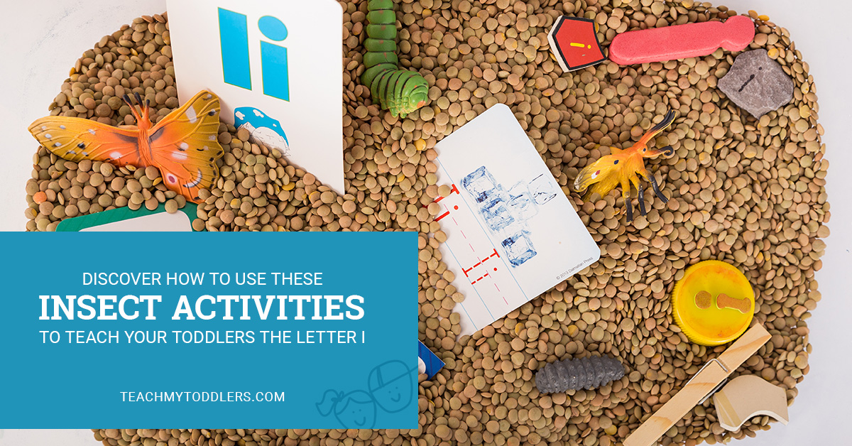 Discover how to use these i is for insect activities to teach toddlers the letter i