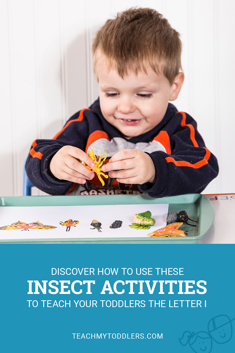 Discover how to use these i is for insect activities to teach your toddlers the letter i