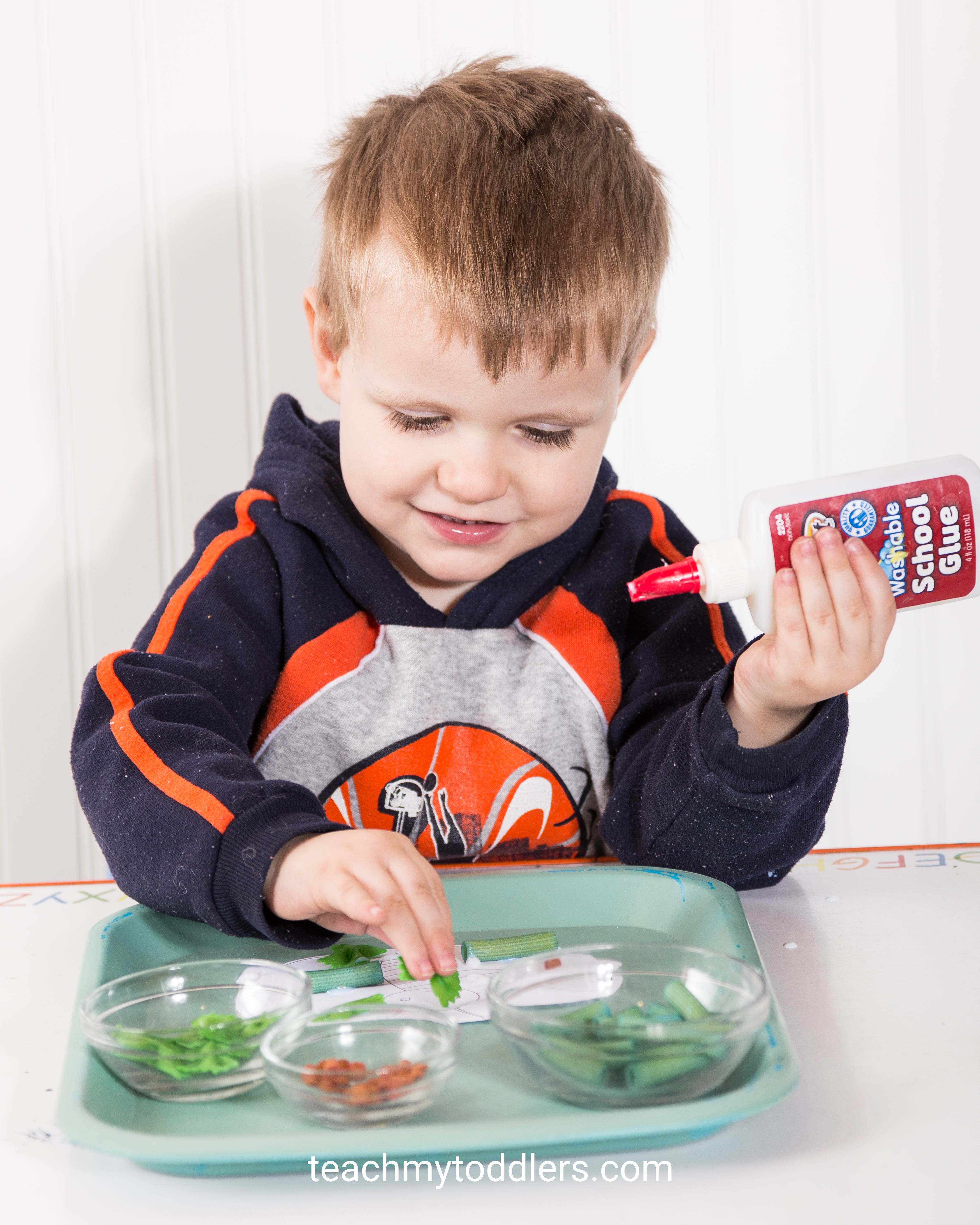Teach your toddlers the letter i using these exciting insect activities