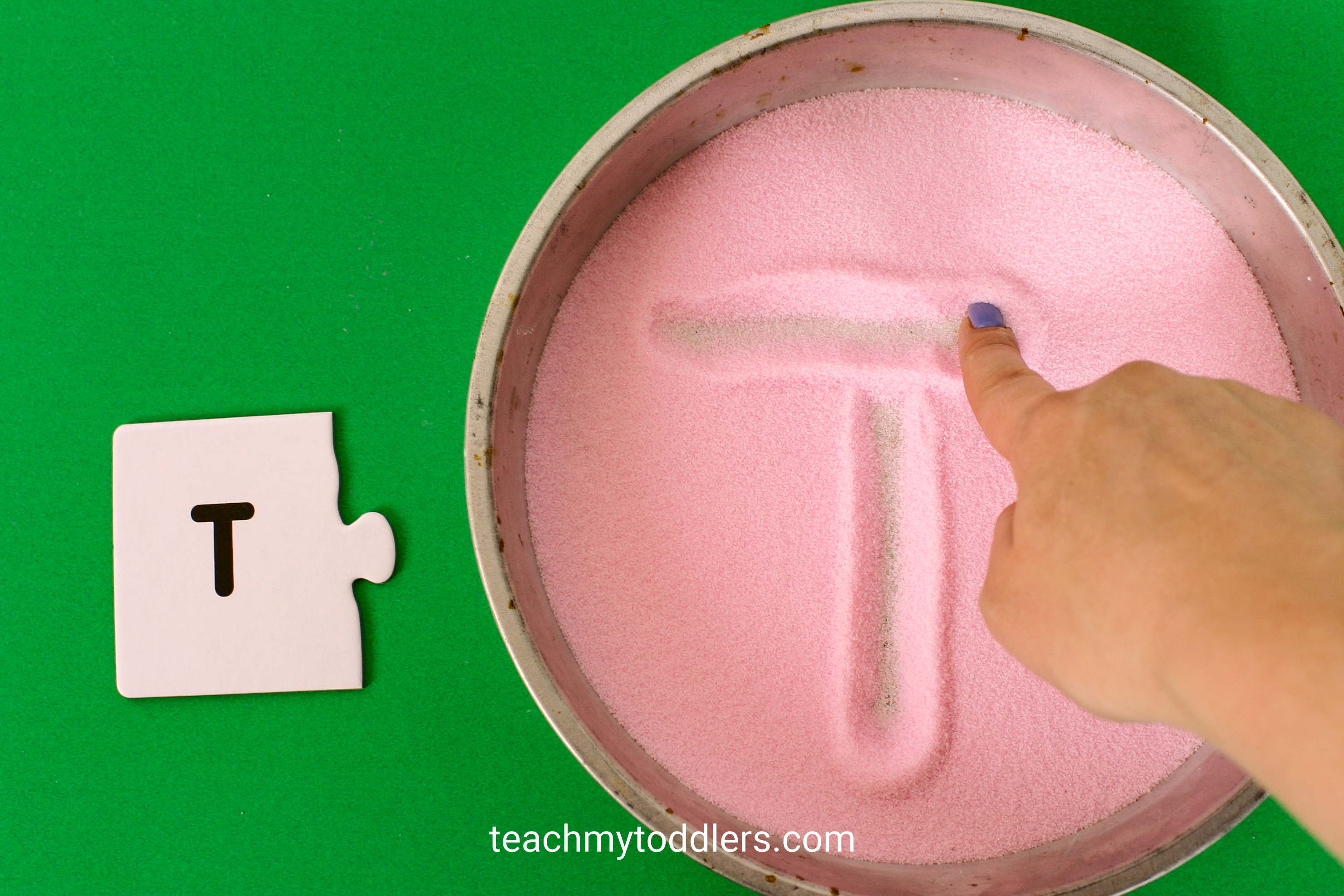 Discover how to make awesome diy colored salt for your teach my toddler projects