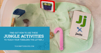 Find out how to use these jungle activities to teach toddlers the letter j