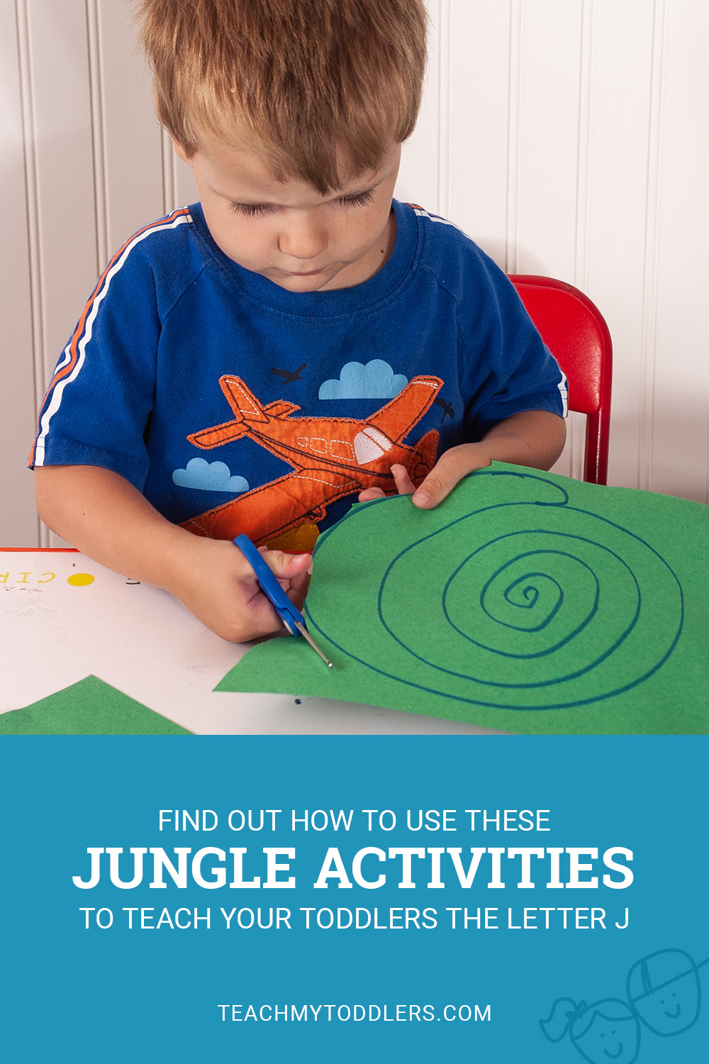 Find out how to use these jungle activities to teach your toddlers the letter j