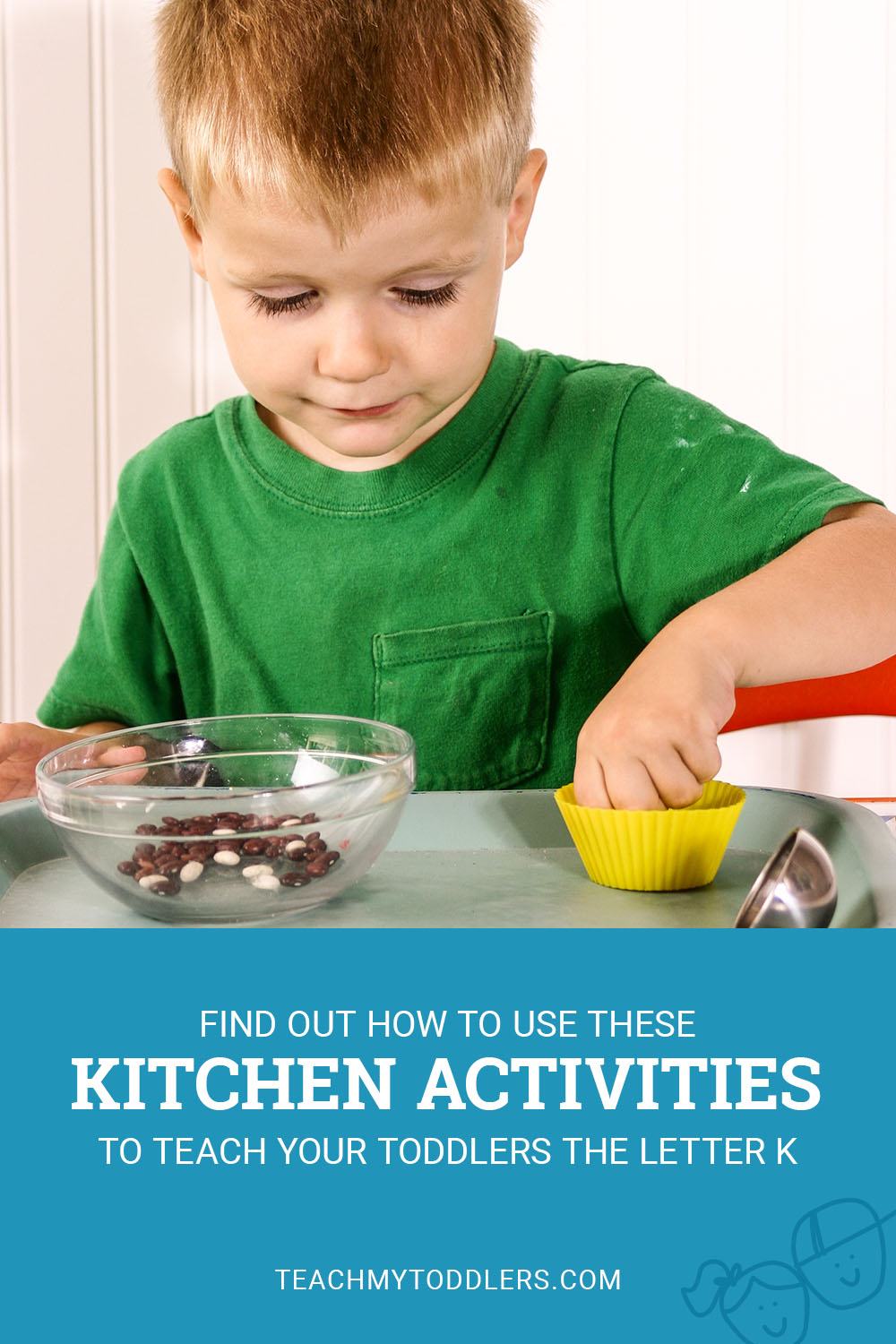 Find out how to use these kitchen activities to teach toddlers the letter k