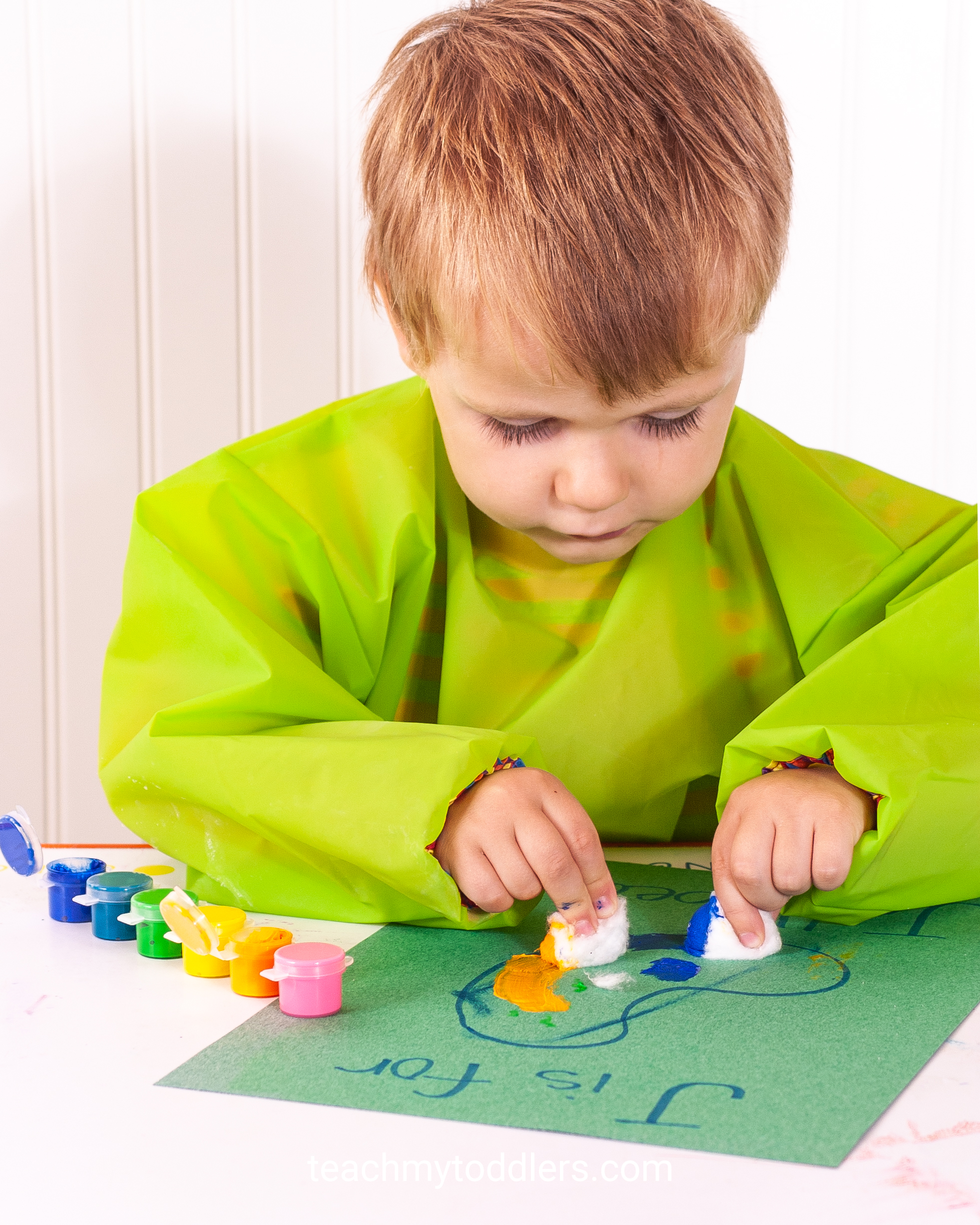 Use these awesome jungle activities to teach toddlers the letter j