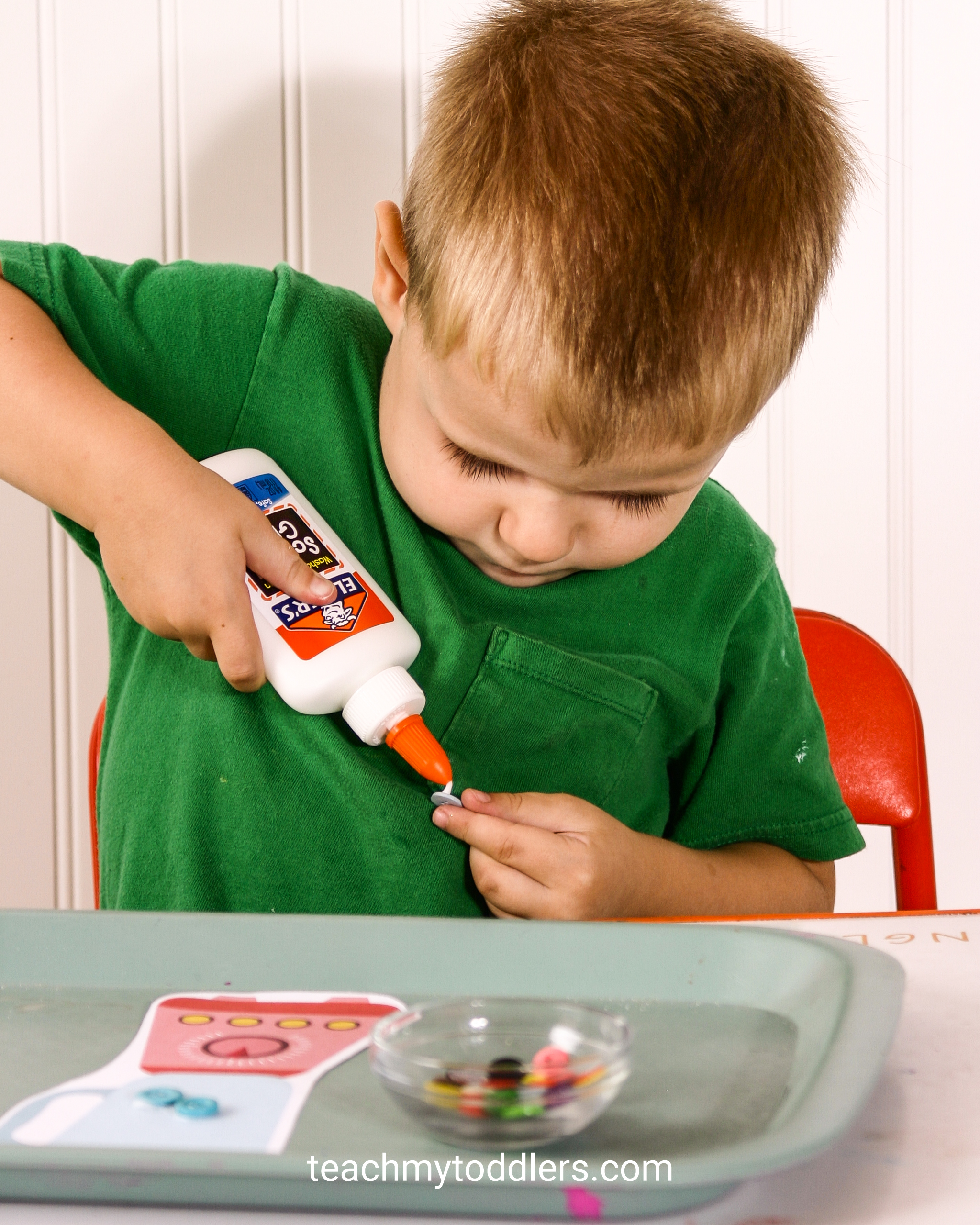Use these great kitchen activities to teach toddler the letter k