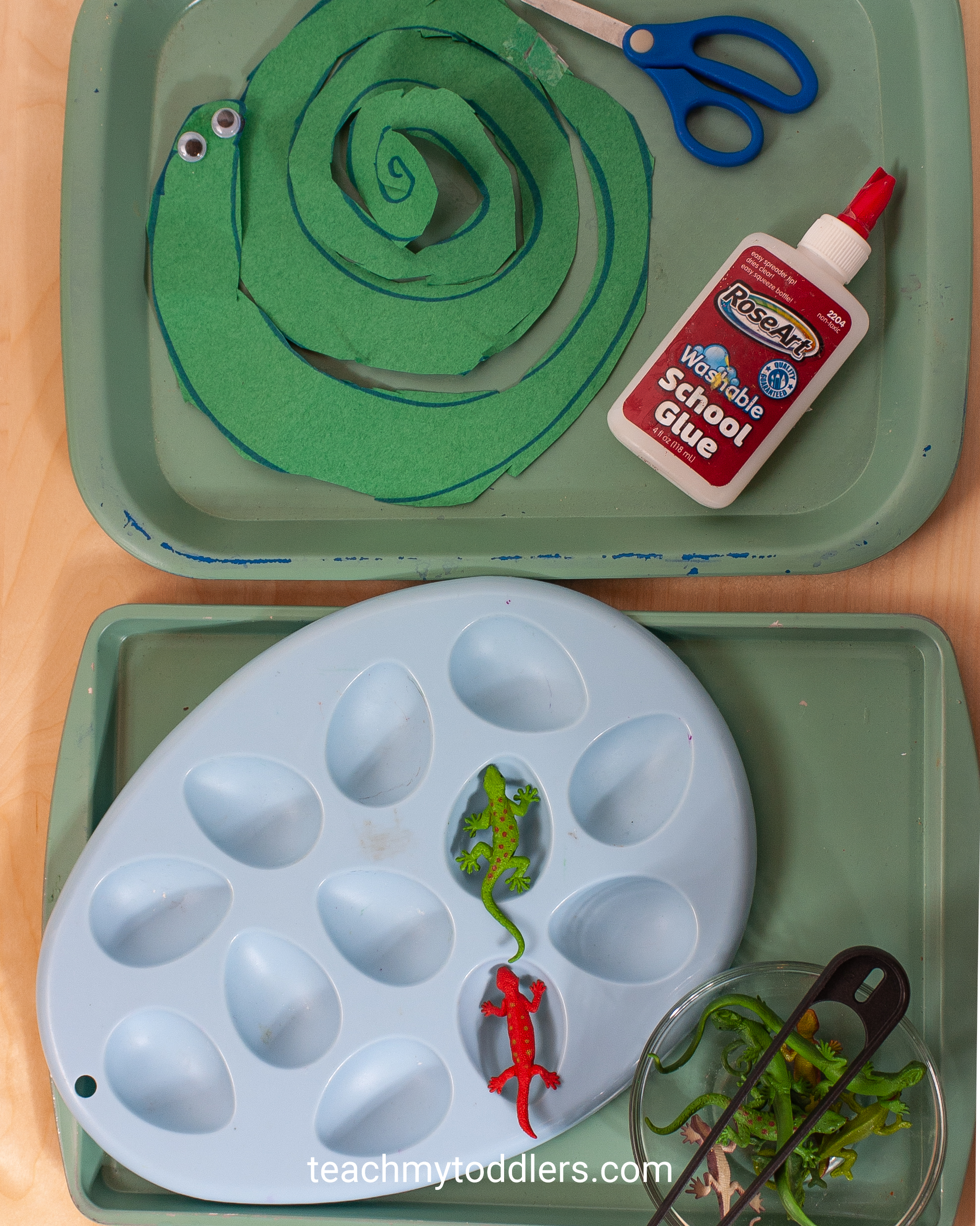 Use these unique jungle activities to teach toddlers the letter j