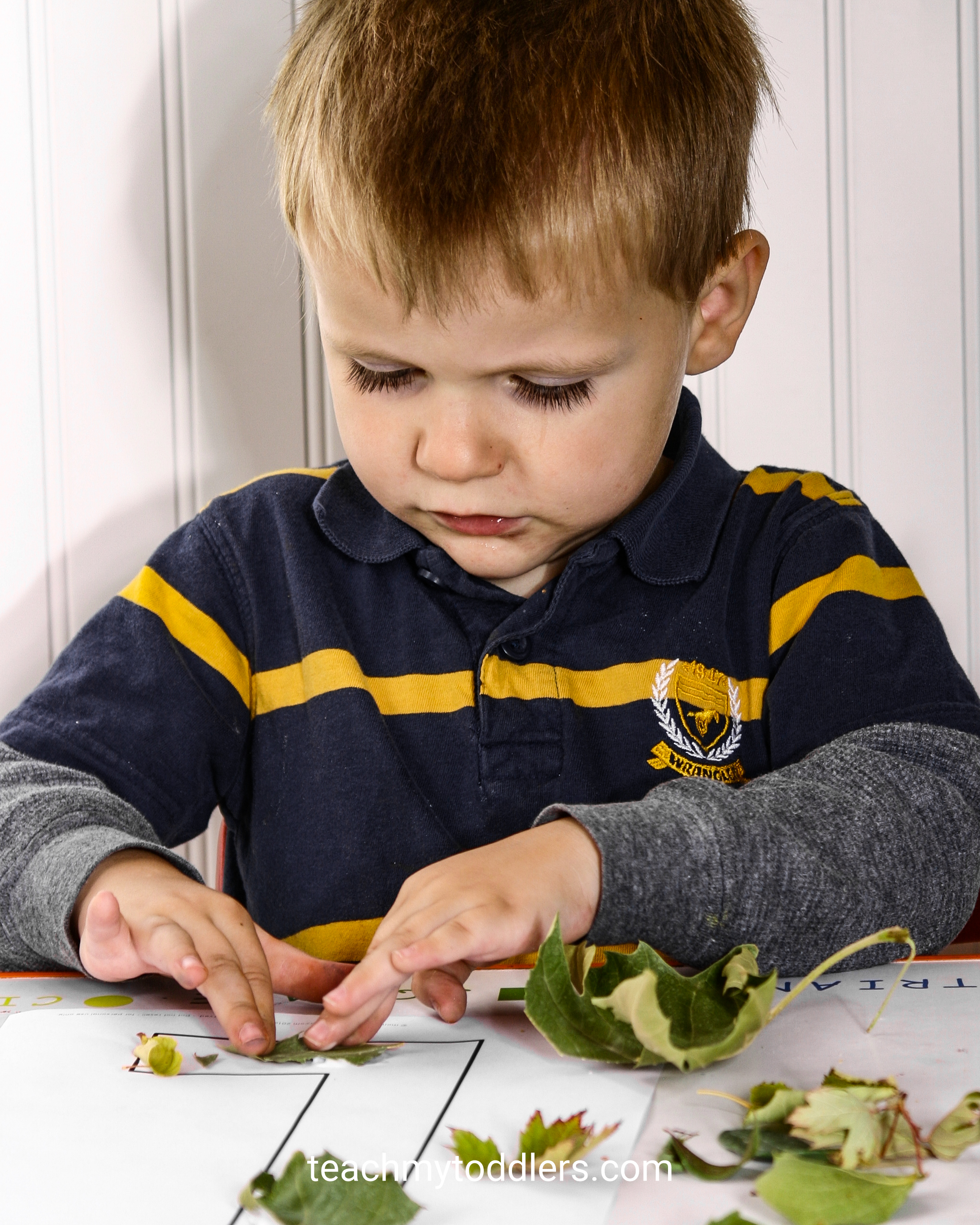 Find out how to use these leaves activities to teach toddlers the letter l