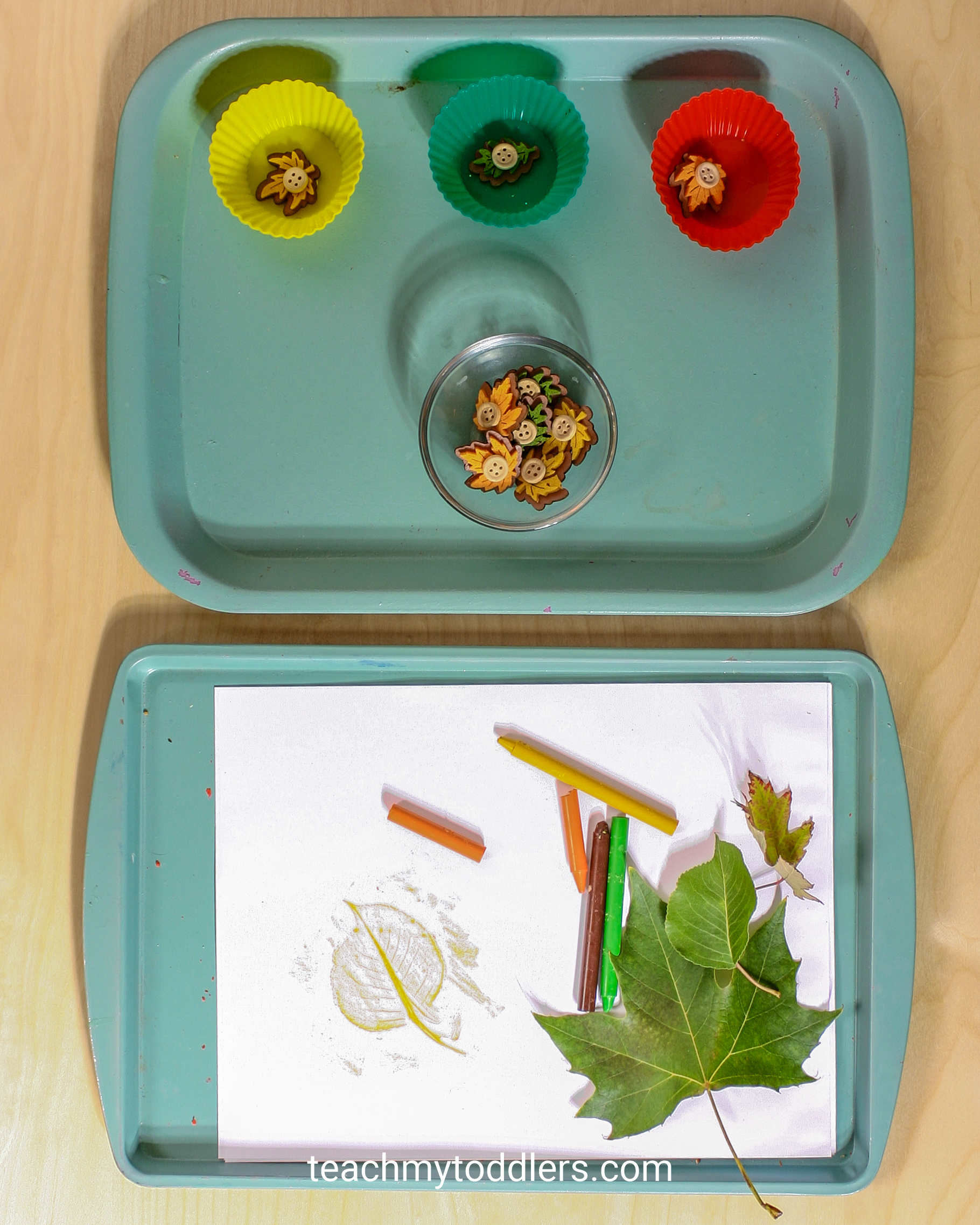 Find out how to use these unique leaves activities to teach toddlers the letter l