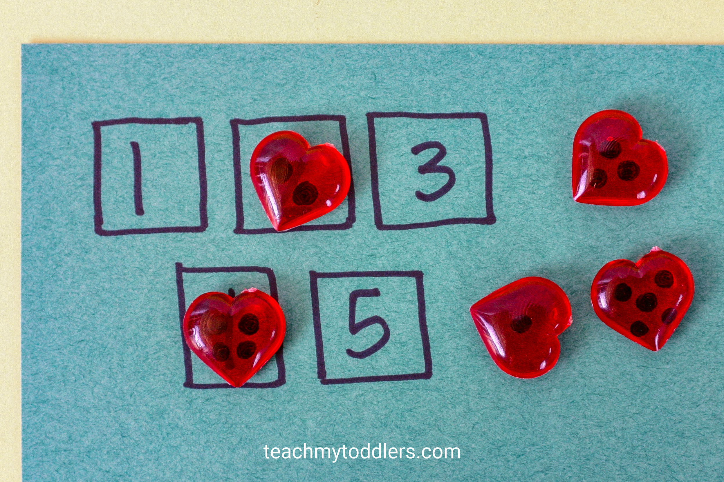 Discover how to use these fun table scatter activities to teach toddlers math