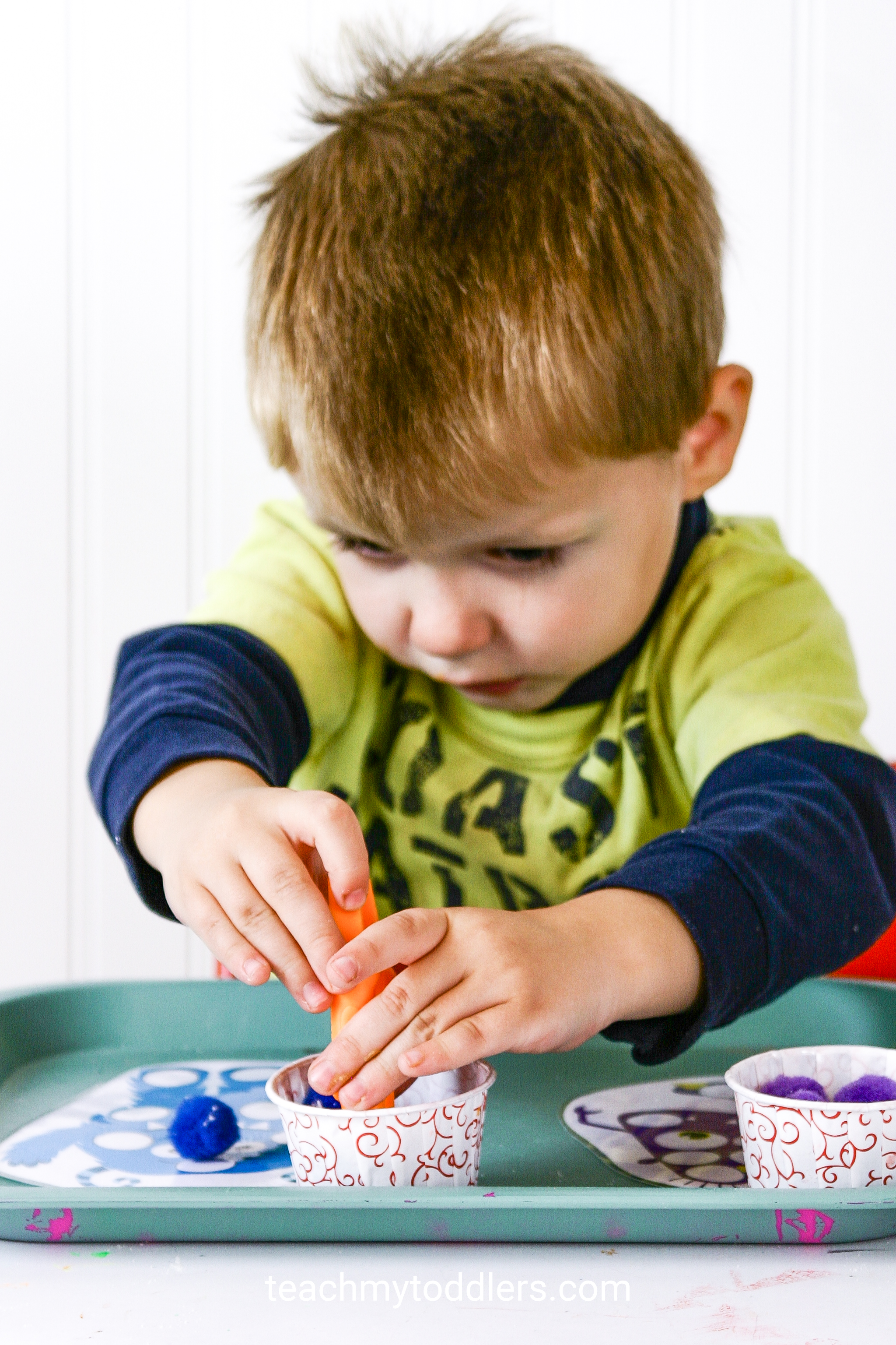 Discover how to use these monster activities to teach toddlers the letter m