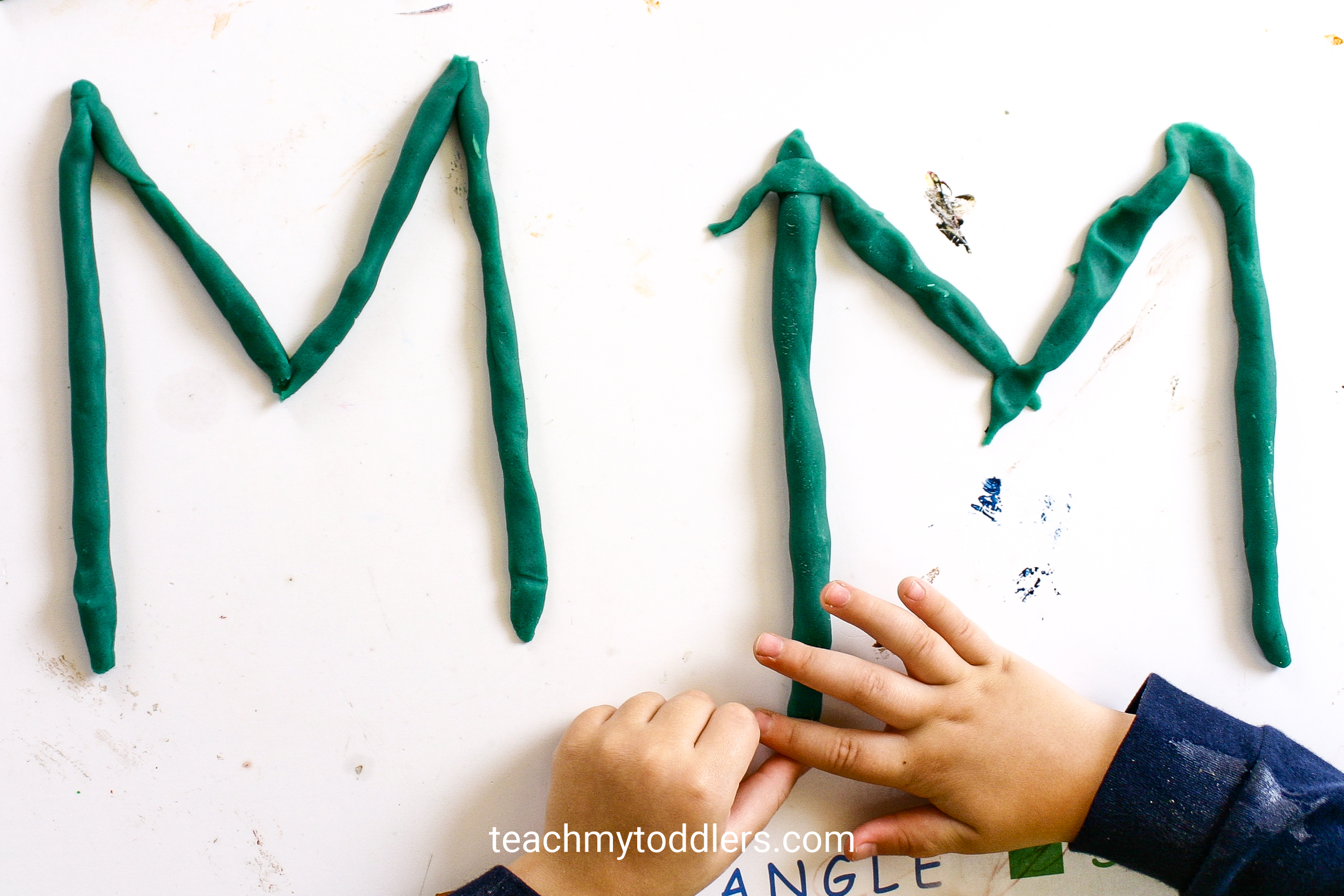 Use these awesome monster activities to teach toddlers the letter m