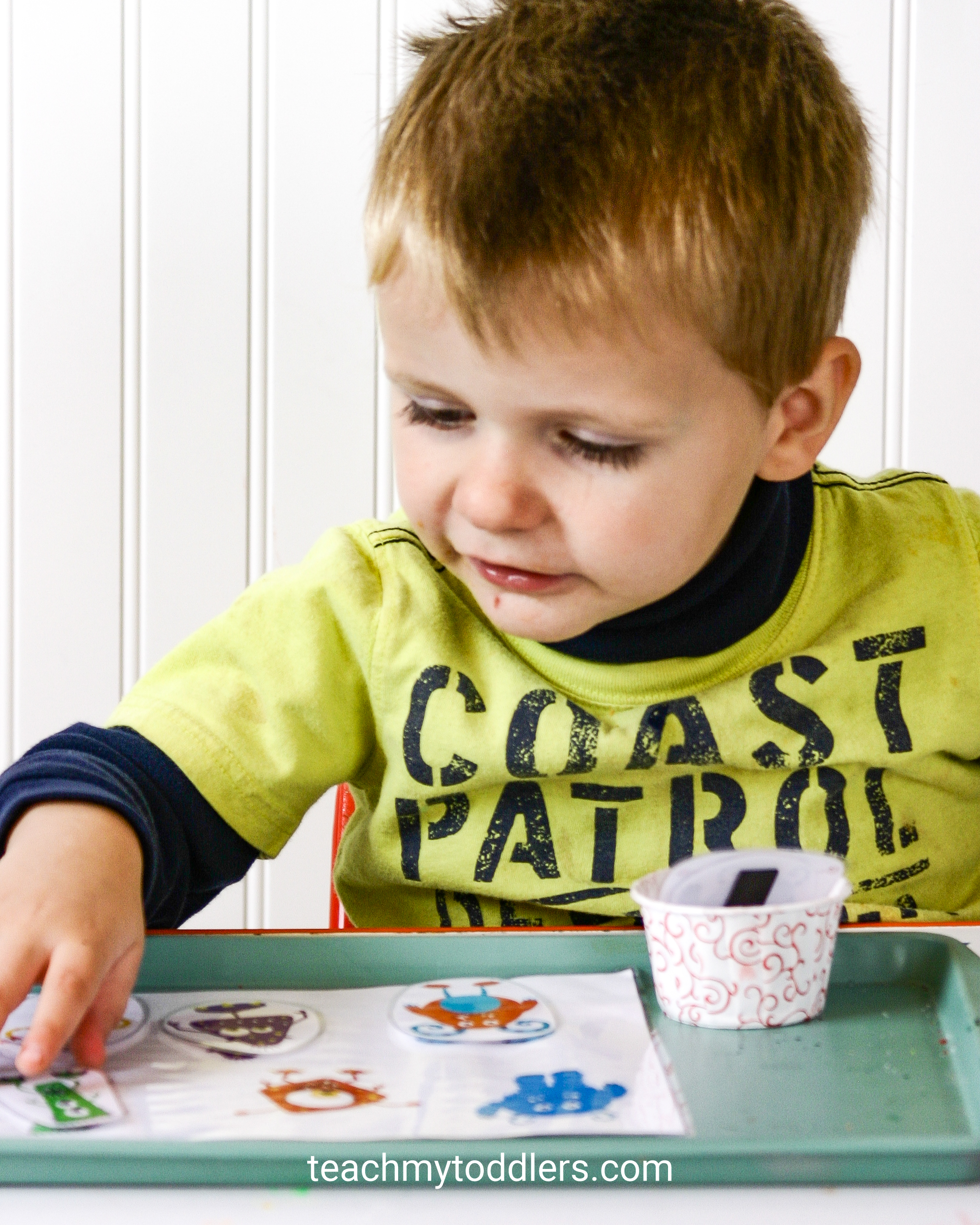 Use these fun monster activities to teach your toddlers the letter m