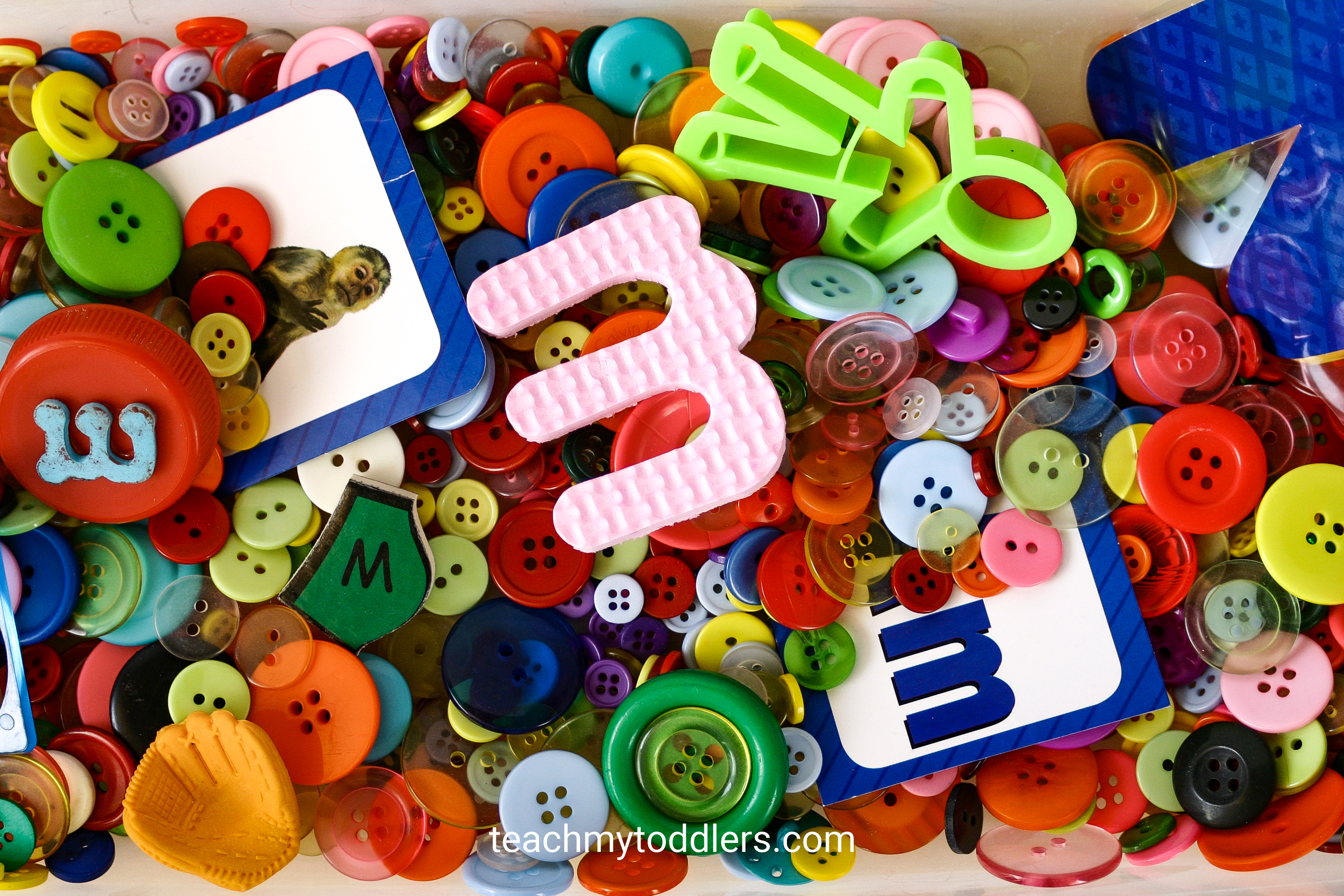 Use these unique monster activities to teach your toddlers the letter m