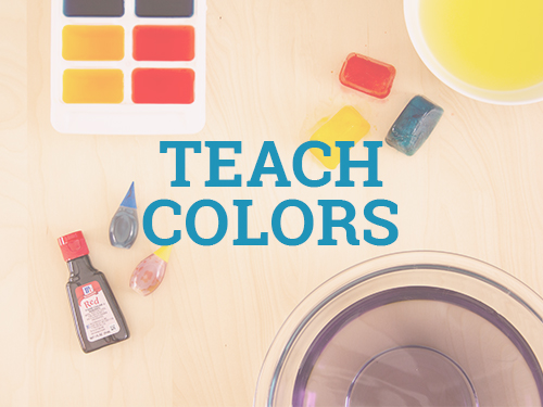 Teach colors to your toddler with these fun activities