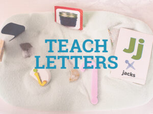 Teach letters to your toddler with these fun activities