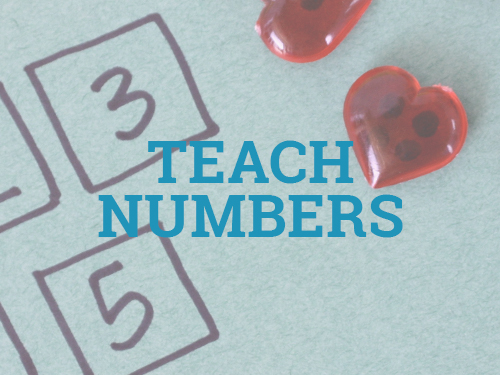 Teach numbers to your toddler with these fun activities