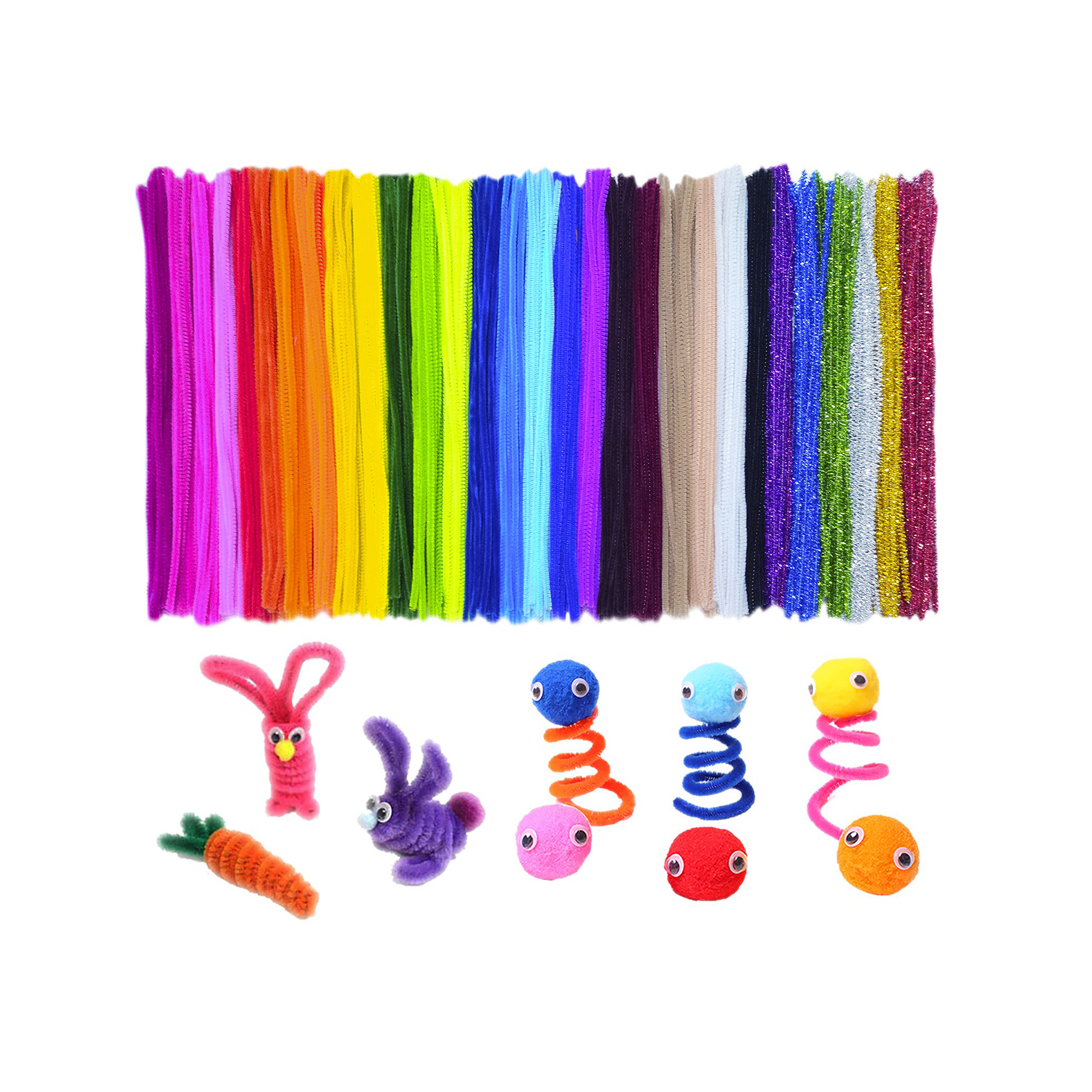 Grab our favorite pipe cleaners for your toddler activities