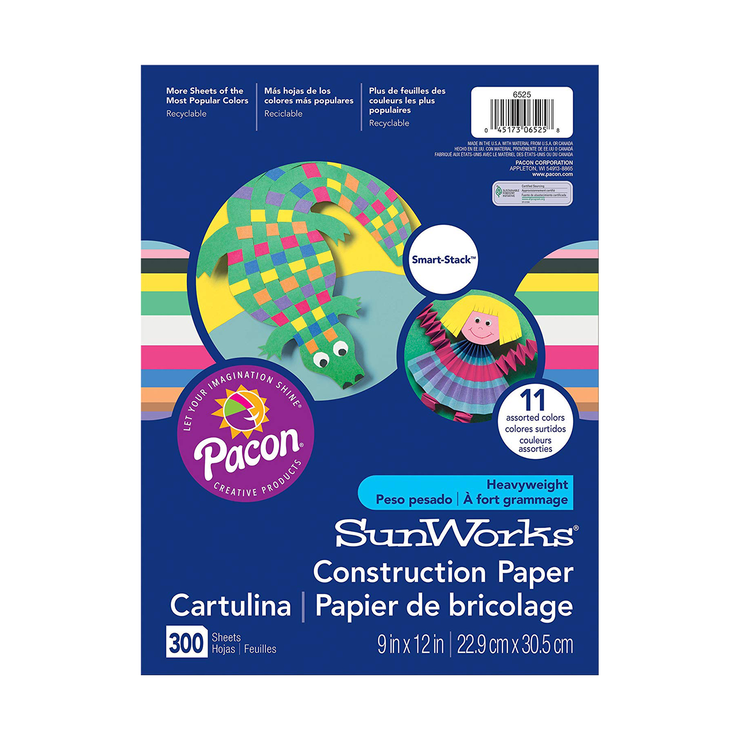 Our favorite construction paper for toddler activities