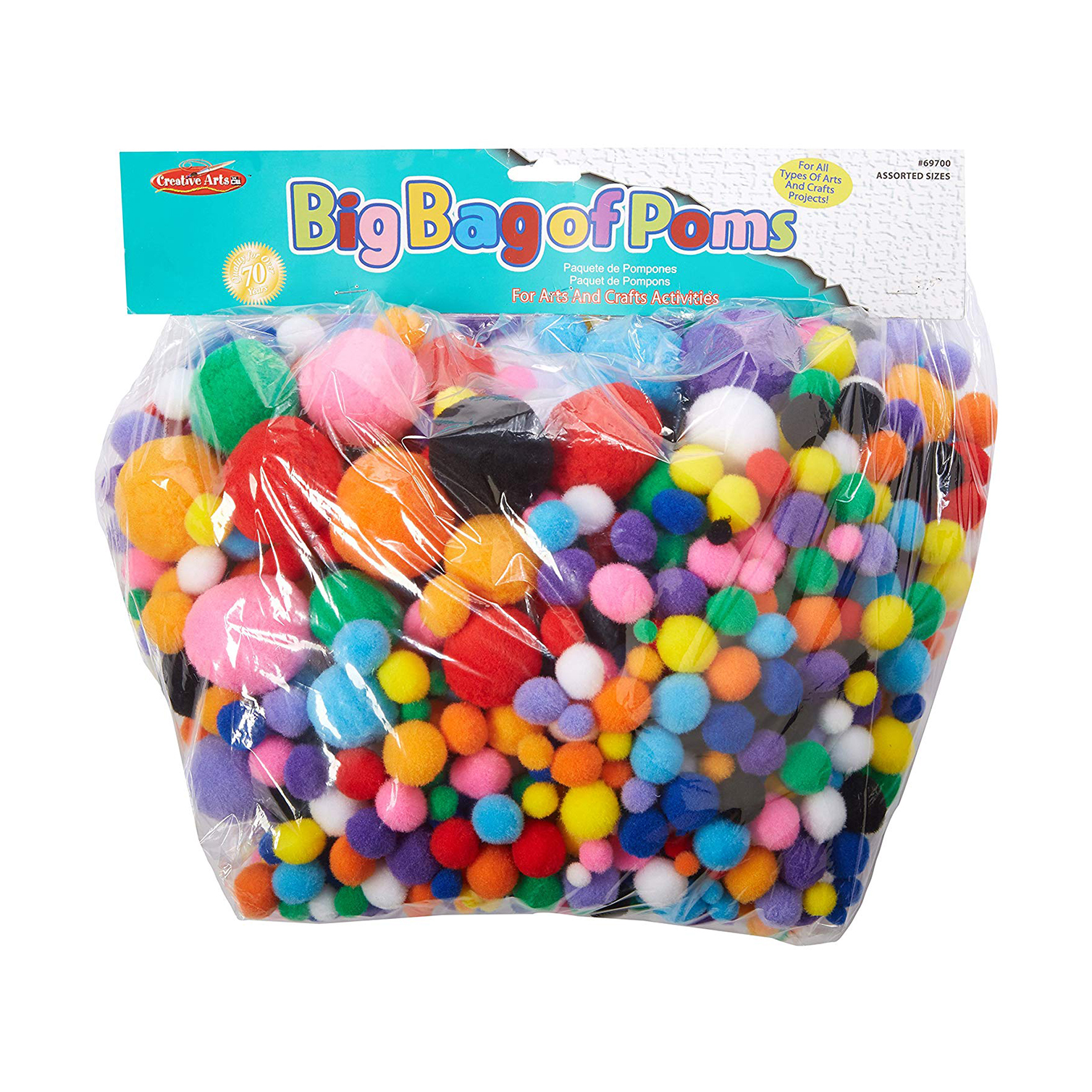Our favorite pom-poms for toddler activities