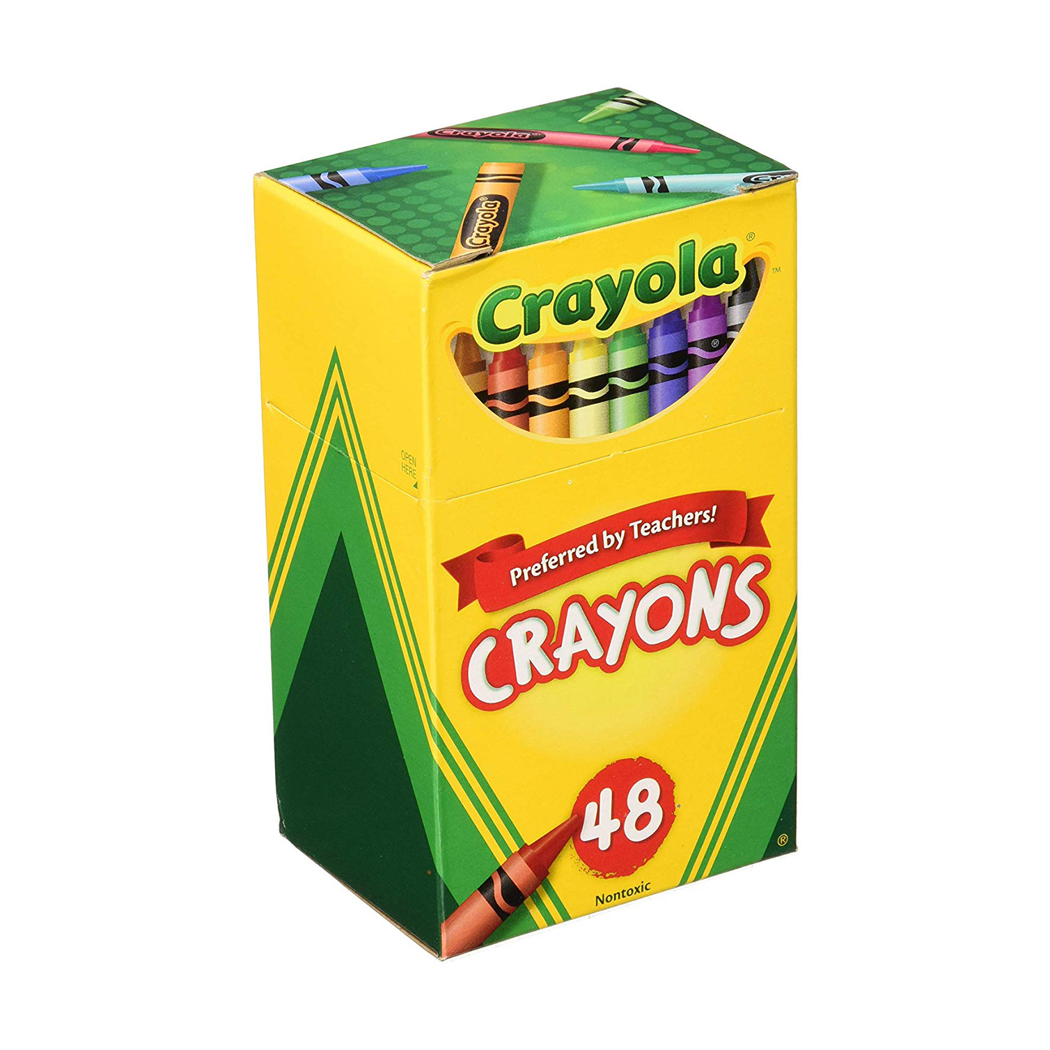 You can never have too many crayons when you're teaching your toddler numbers