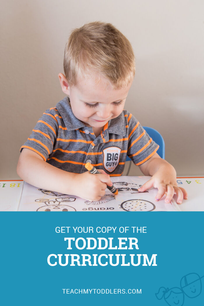 Toddler Curriculum for all 26 letters of the alphabet